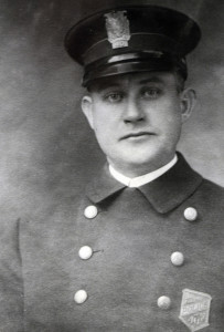 Charles McIntosh, the first Portland police officer murdered in the line of duty.