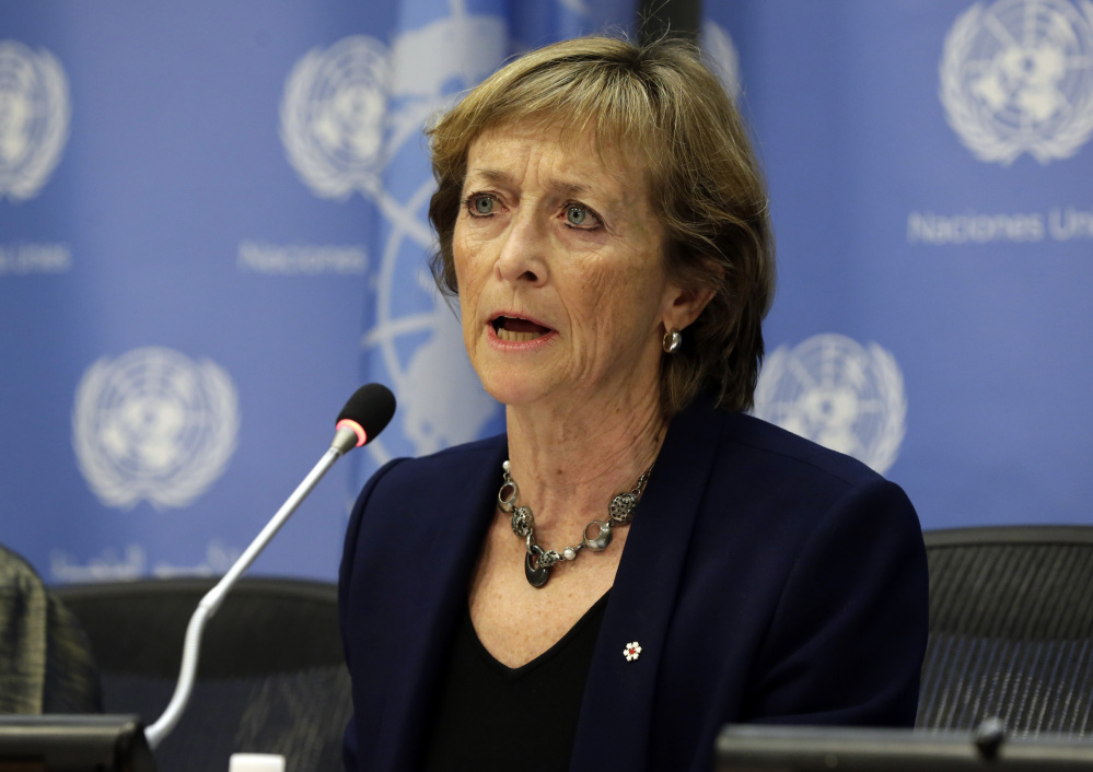 Canadian judge Marie Deschamps is chair of the Independent Review Panel on UN Response to Allegations of Sexual Abuse by Foreign Military Forces in the Central African Republic.