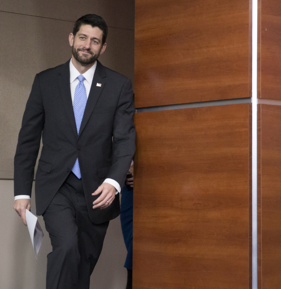 At least for now, House Speaker Paul Ryan benefits from being the anti-Boehner.