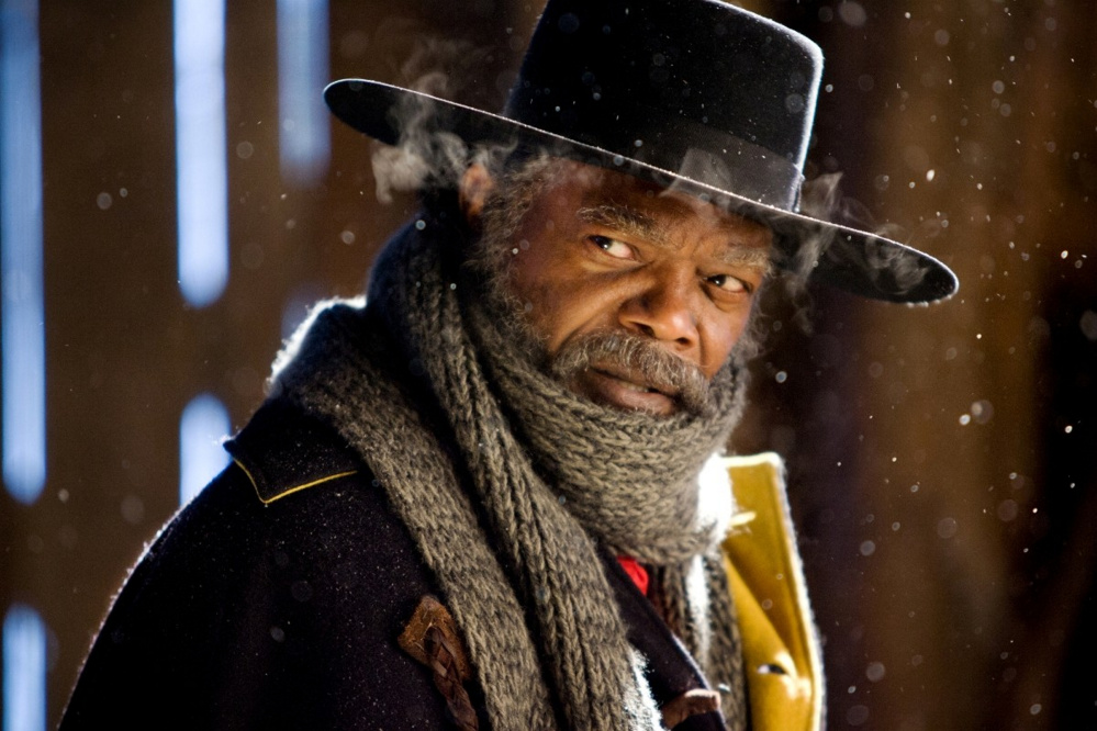 "Samuel L. Jackson stars in ""The Hateful Eight"" and narrates a featurette about the making of the film."