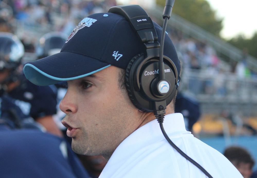 Joe Harasymiak, who joined the UMaine coaching staff in 2011, is now the youngest head coach in Division I football.