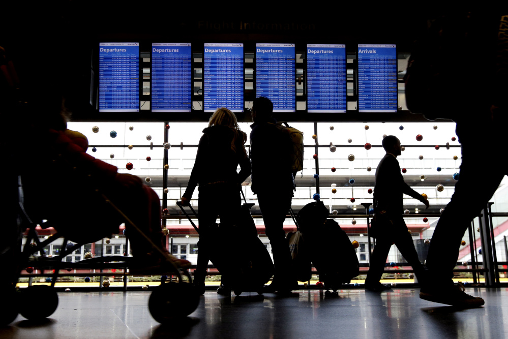 Rain and fog in the Northeast caused delays and cancellations on Wednesday in Boston, New York and Washington – the busiest part of the nation's airspace. El Niño is helping to prevent snow and ice that crippled holiday travel in 2012.