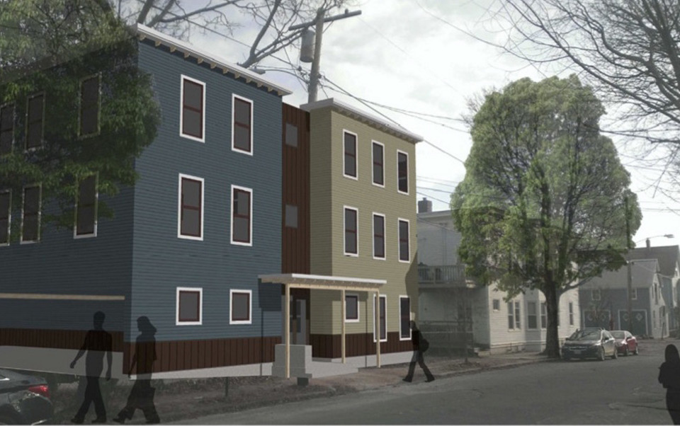 Units of the three-story building envisioned at 65 Munjoy St. will be priced from about $235,000 to $300,000.