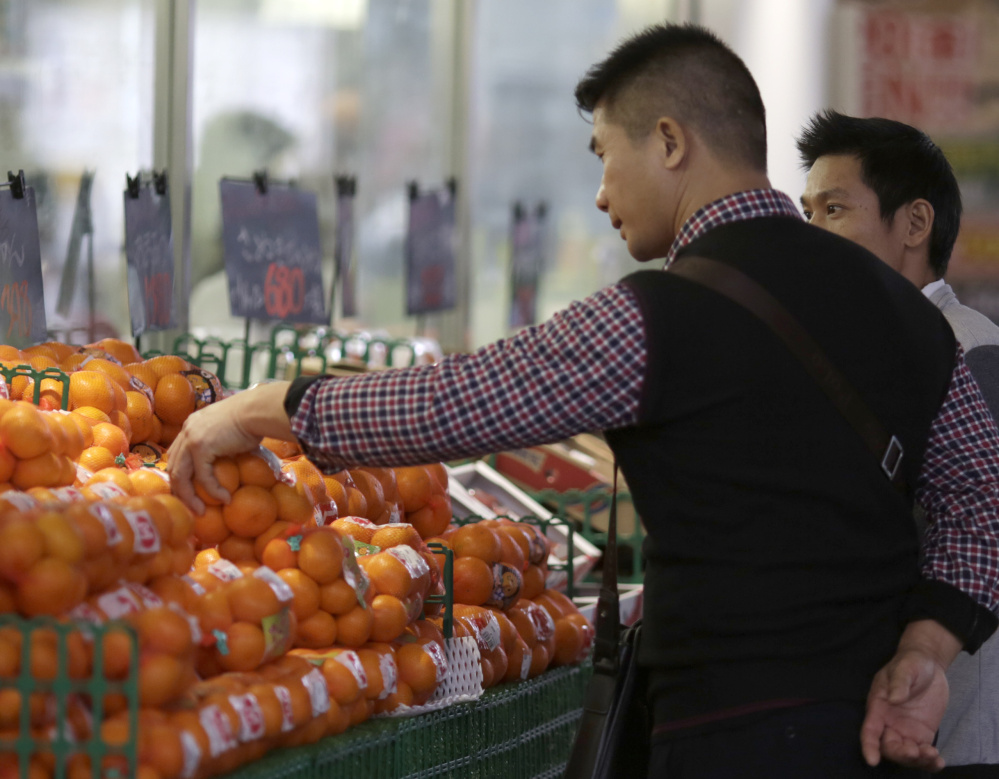 Consumer prices went up 0.3 percent in Japan from a year earlier, which represents very little progress toward the government's goal of a 2 percent inflation rate.