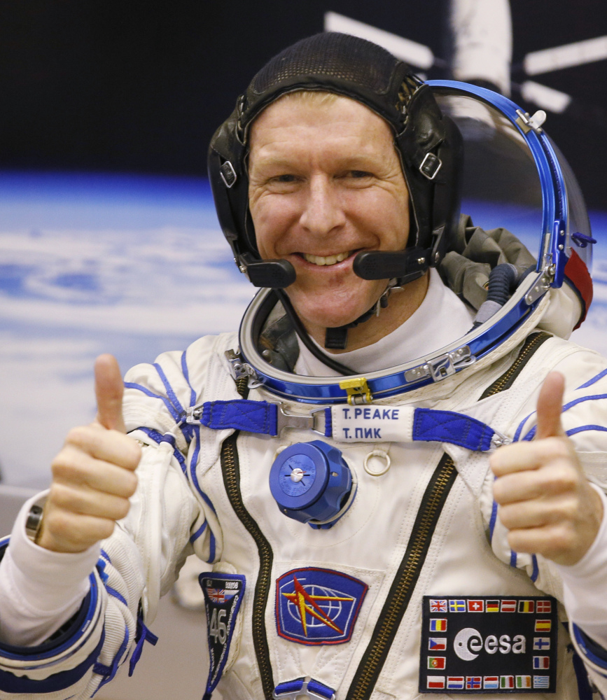 British astronaut Tim Peake said Friday he dialed a wrong number and wasn't placing a prank call.