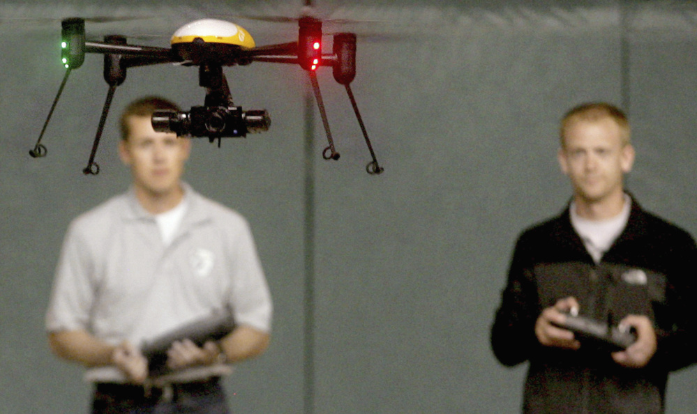 Near midair collisions between recreational drones and military aircraft are on the rise.