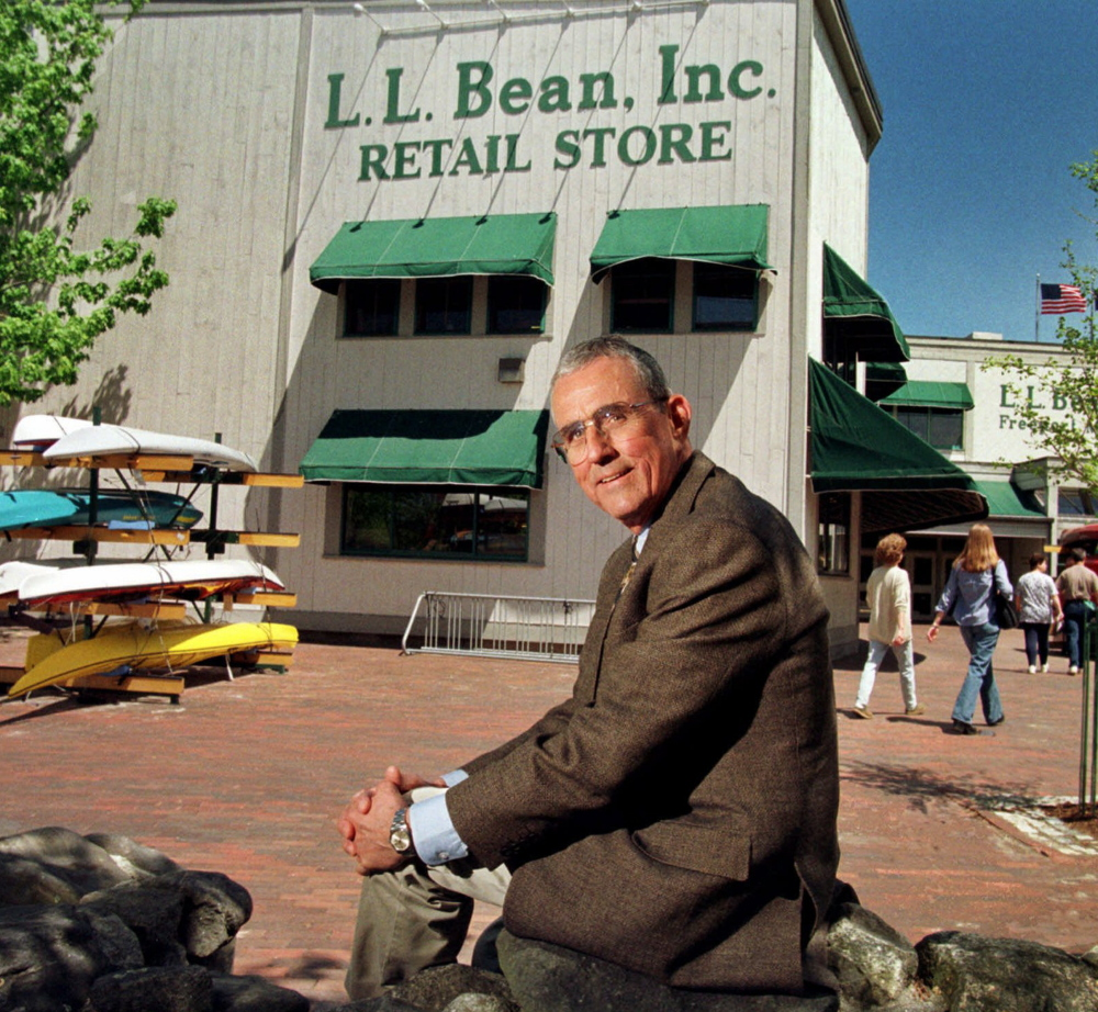 Leon A. Gorman, who stepped down as president and chief executive officer of L.L. Bean in 1999, transformed the company into a multichannel retailer with 5,000 employees. 1999 AP file photo