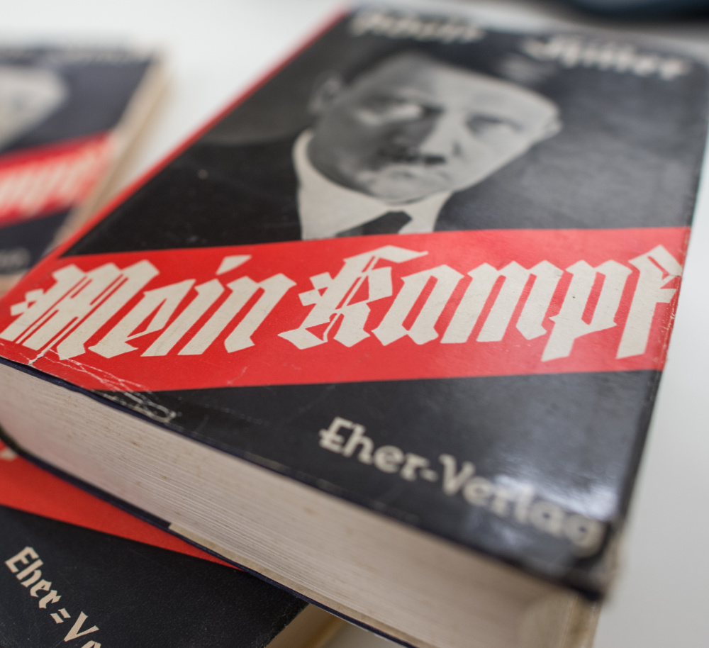 "For 70 years since the Nazi defeat in World War II, copyright law has been used to prohibit the publication of ""Mein Kampf,"" the notorious anti-Semitic tome in which Hitler set out his ideology, in Germany."