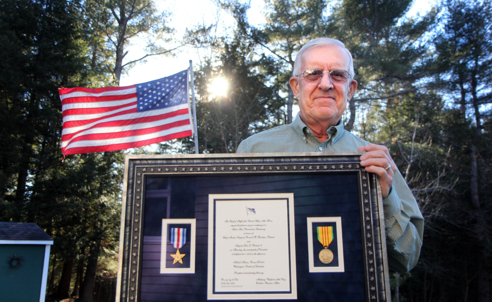 Vietnam veteran Ron Brodeur, 70, of Chelsea was recently awarded the Silver Star during a ceremony at the Pentagon for his actions on Feb. 20, 1969, as a member of the Air Force's 20th Special Operations Squadron known as the Green Hornets.