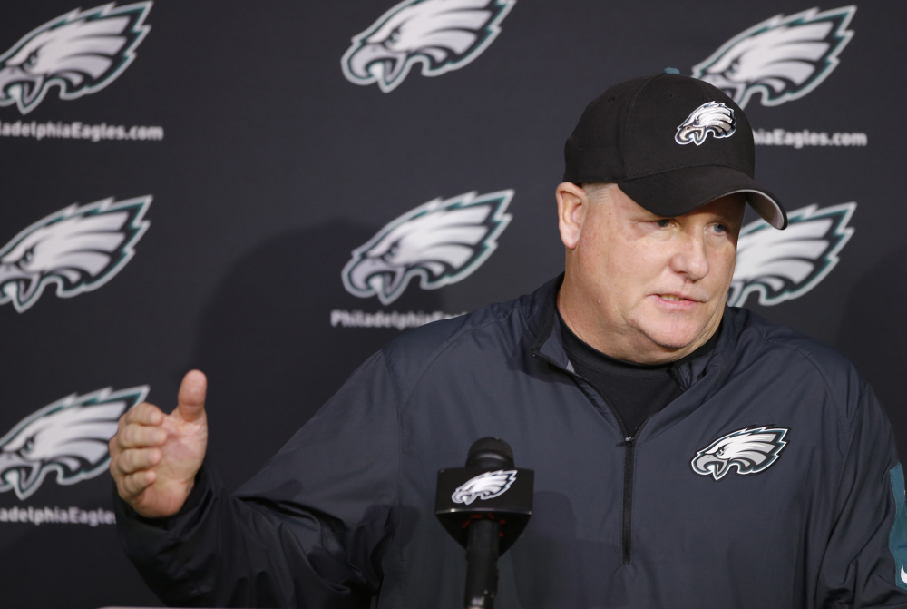 Philadelphia Eagles Coach Chip Kelly was fired on Tuesday with one game remaining this season, against the New York Giants on Sunday. The Eagles have a 6-9 record. The Associated Press