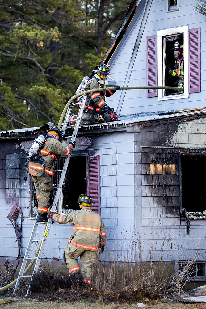 Morning fire destroys unoccupied house in lebanon for Affordable motors lebanon in