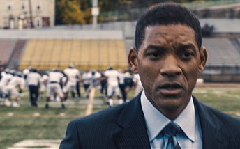 "Will Smith portrays Dr. Bennet Omalu in Columbia Pictures' ""Concussion."" The movie releases Christmas Day. Columbia Pictures via AP"