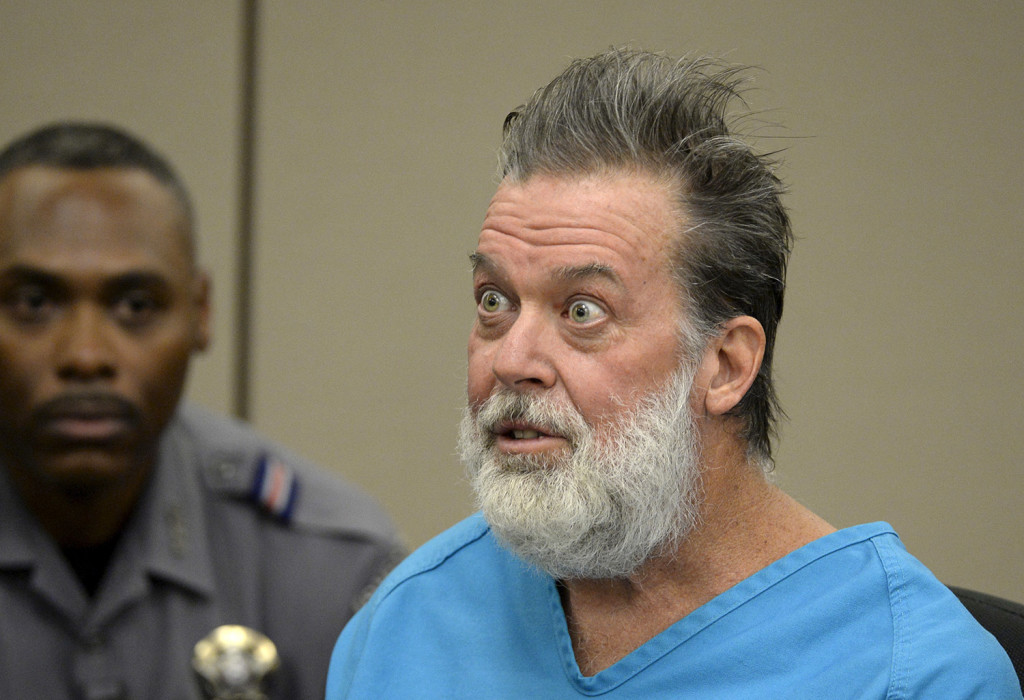 Robert Lewis Dear, 57, accused of shooting three people to death and wounding nine others at a Planned Parenthood clinic in Colorado last month, told the court Wednesday he plans to represent himself.