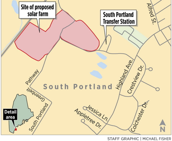 South portland rejects 2 proposals for solar energy farms for Solar energy portland