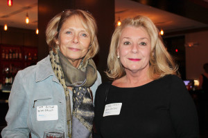 Deb Hutson of Bean Group real estate and Vana Zellers of Simply Vana's attended the Maine Women's Network Open Networking event at the Top of the East.