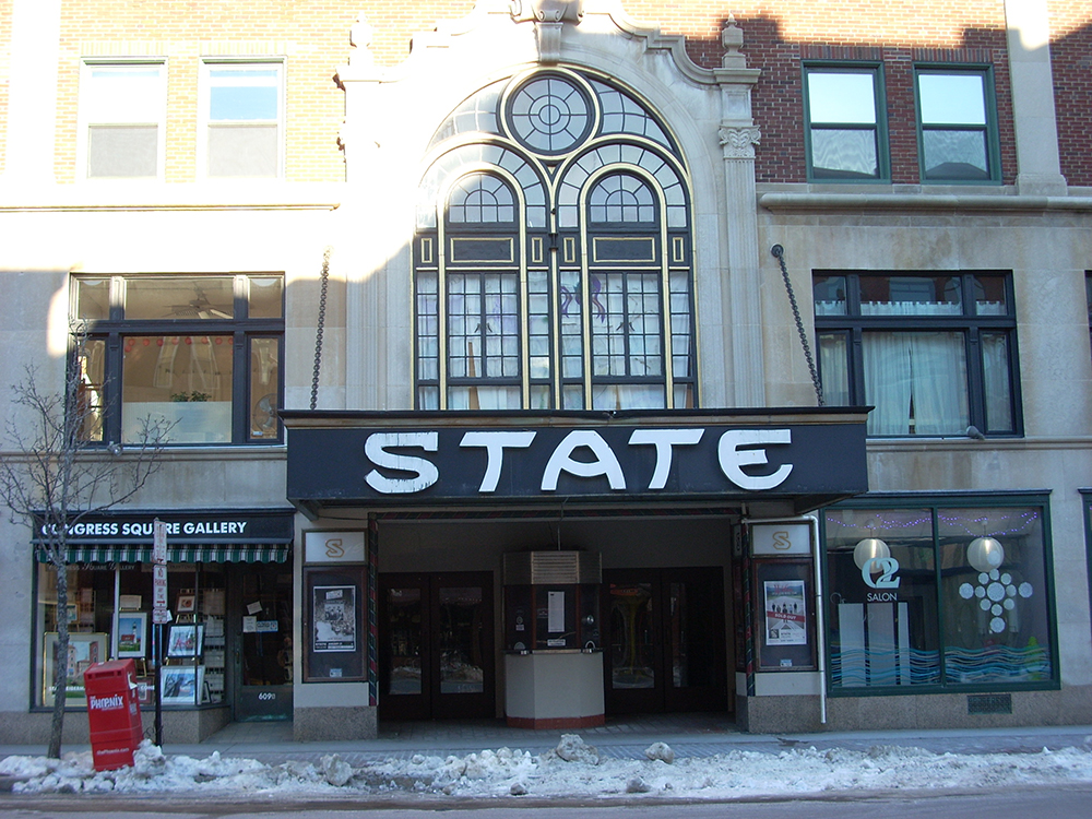The State Theatre, at 609 Congress St., will use the grant money to refurbish its marquee.