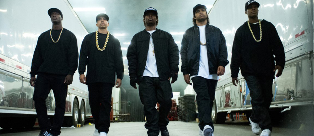 """In """"Straight Outta Compton,"""" about the rise of the rap group N.W.A., Roy Ayers Ubiquity's """"Everybody Loves the Sunshine"""" backs a memorable scene."""