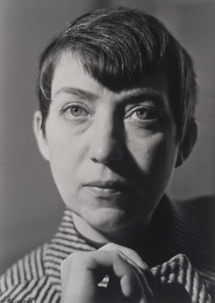 Berenice Abbott by Lotte Jacobi