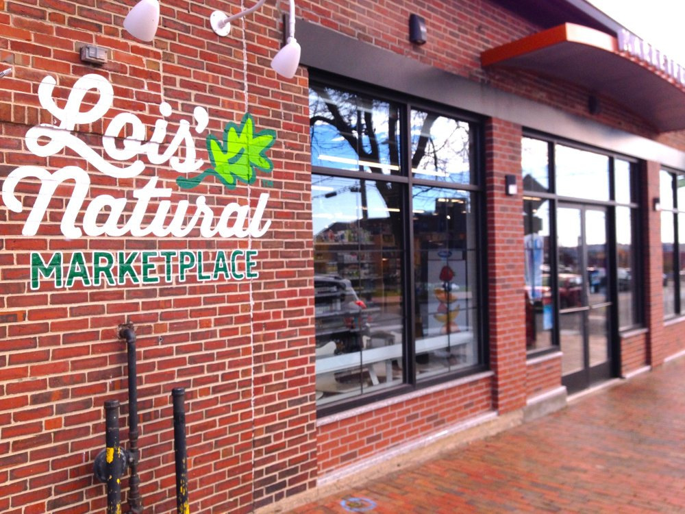 Lois' Natural Marketplace opened on India Street in Portland last summer.