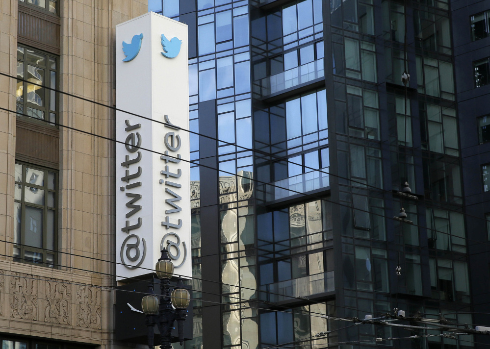The CEO of San Francisco-based Twitter indicated Tuesday that Twitter is examining ways to give people more room to express themselves.