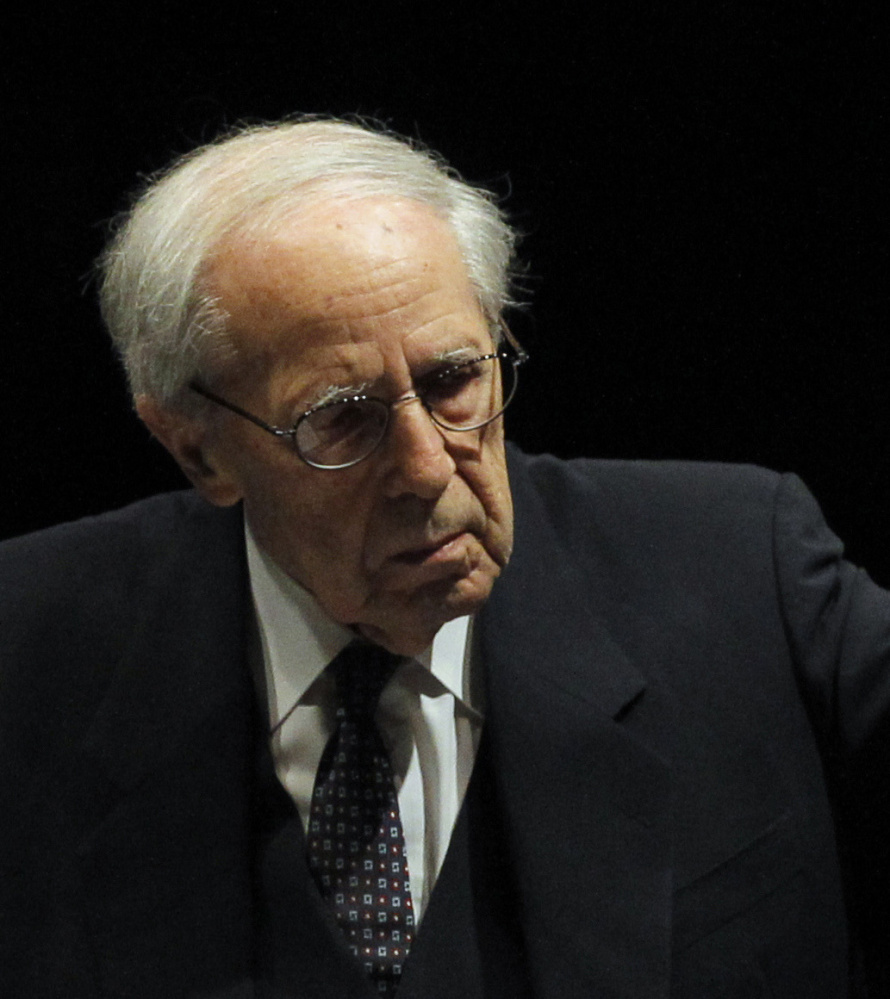 French-born Pierre Boulez directed the New York Philharmonic for much of the 1990s.