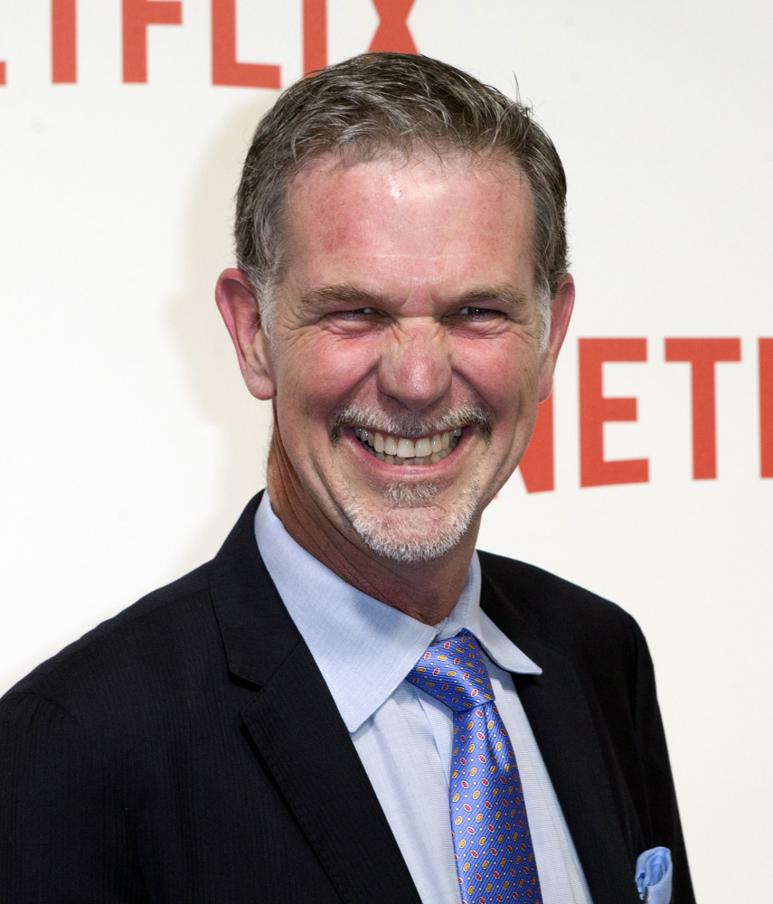Netflix CEO Reed Hastings has ample reason to smile, as the service's fourth-quarter viewership of 12 billion hours was a 50 percent increase over the same period in 2014.