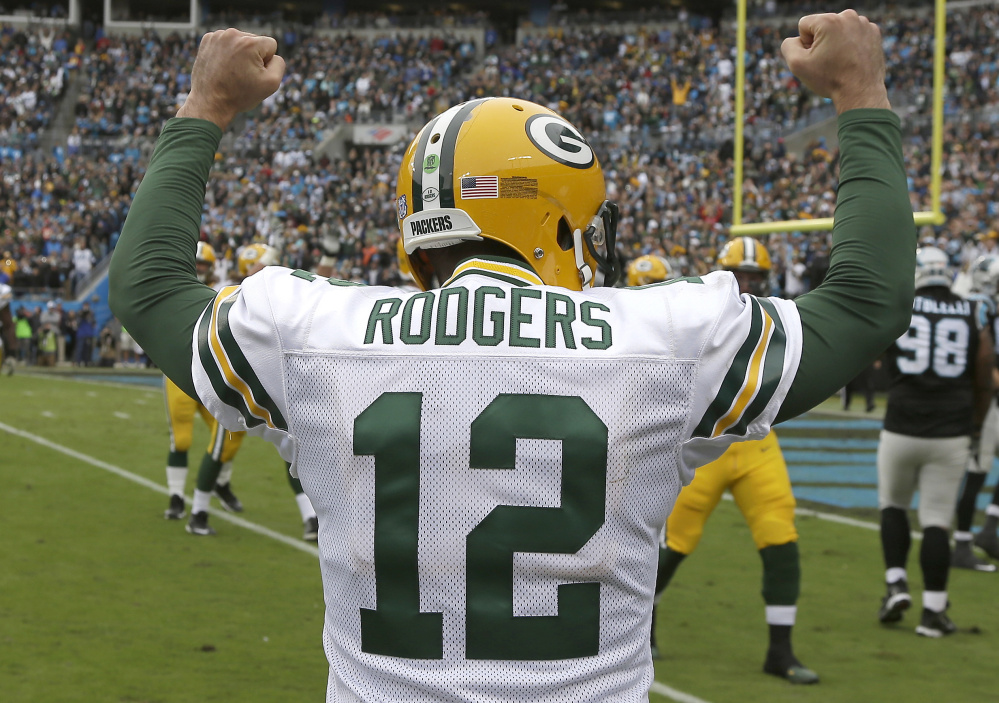 Green Bay Packers quarterback Aaron Rodgers has played in a postseason game every year since 2009. On Sunday, he and the Packers visit Washington.