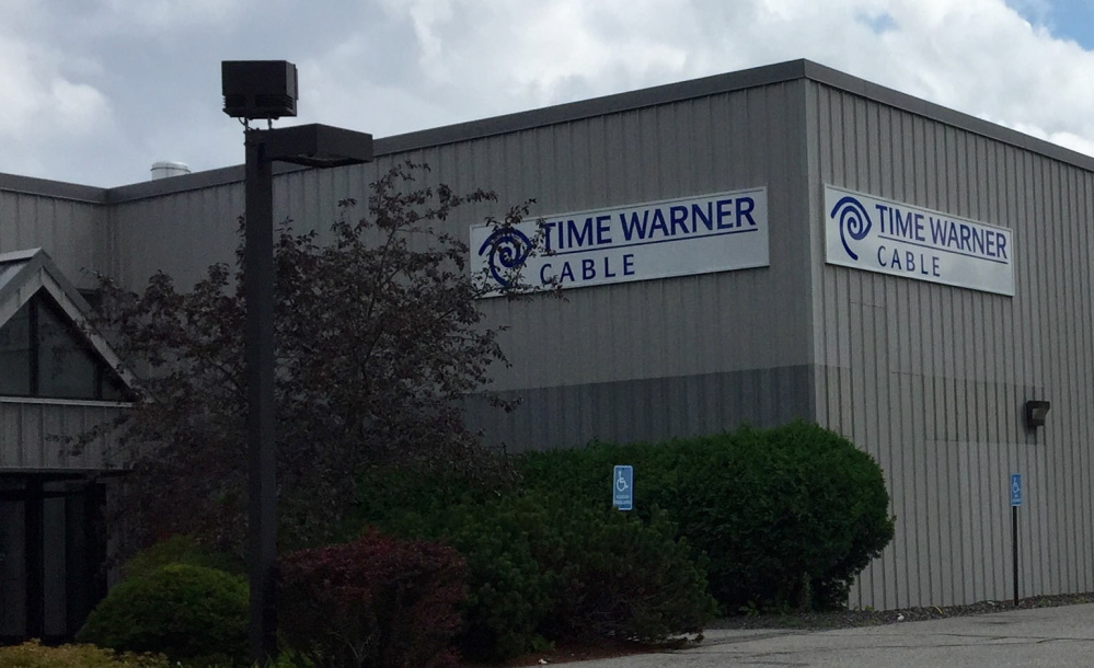 Time Warner Cable, whose Augusta headquarters is seen here, serves more than 300,000 residential customers in Maine. The company announced a data breach may have compromised as many as 320,000 customers across all its markets nationwide, though the company will not say whether any customers in Maine might be affected.