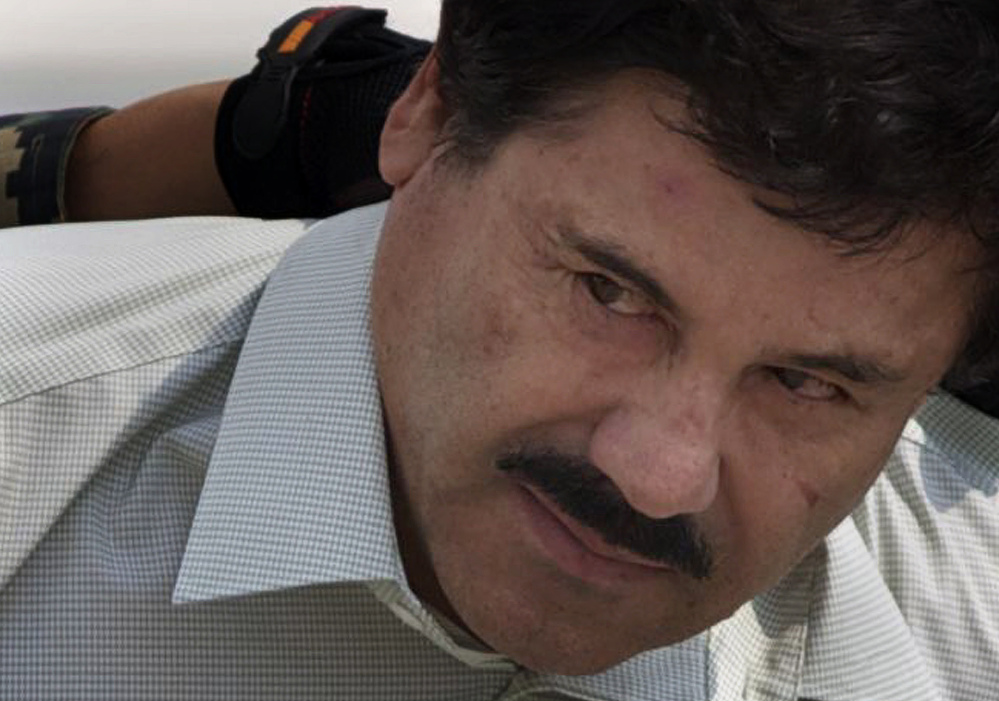 """Joaquin """"El Chapo"""" Guzman was recaptured after escaping last year from a maximum-security prison."""