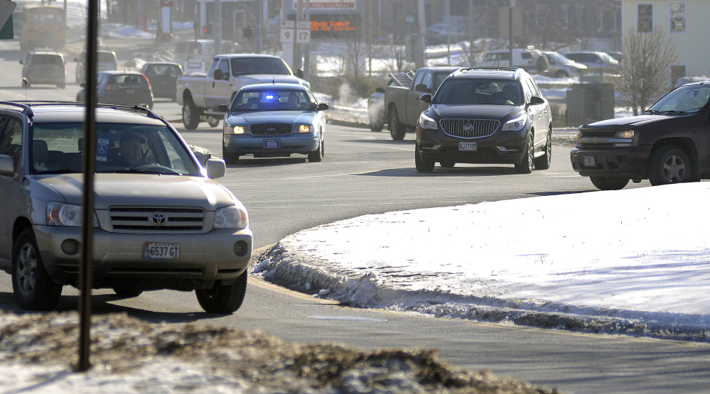 The Augusta Police Department plans to step up enforcement of traffic laws at Cony Circle and Memorial Circle to slow drivers and help pedestrians.