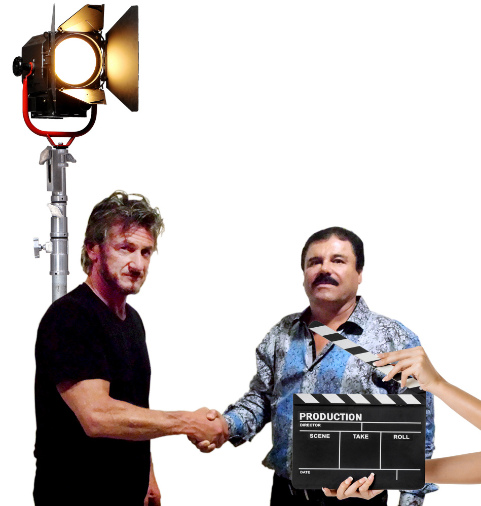 "Actor Sean Penn's interview with Mexican drug lord Joaquin ""Chapo"" Guzmán in Mexico for Rolling Stone is the latest indication that filmmakers and criminals are often star-struck by each other."