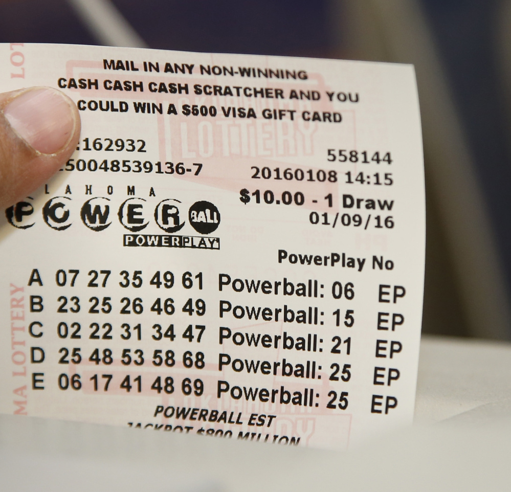 Maine State Lottery: Powerball > Previous Winning Numbers