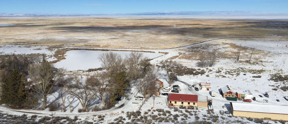 Thousands of artifacts and samples sit inside the Malheur National Wildlife Refuge near Burns, Ore., which is being occupied by an armed group.