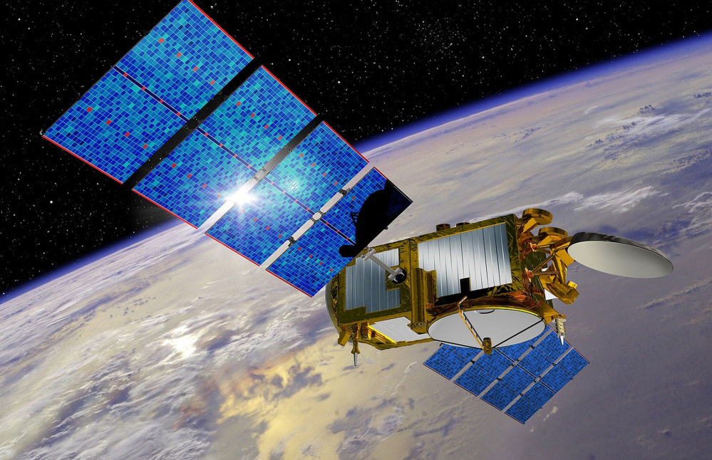 This artist's rendering provided by NASA shows the Jason-3 satellite, the latest in a series of U.S.-European satellites designed to detect ocean events such as El Nino.