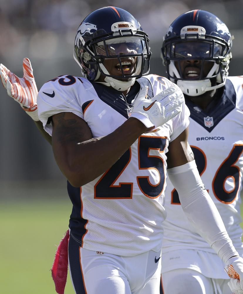Denver cornerback Chris Harris Jr., an undrafted free agent who has risen to earn a $10 million bonus, is a vital part of what has developed into the top defense in the league this season.