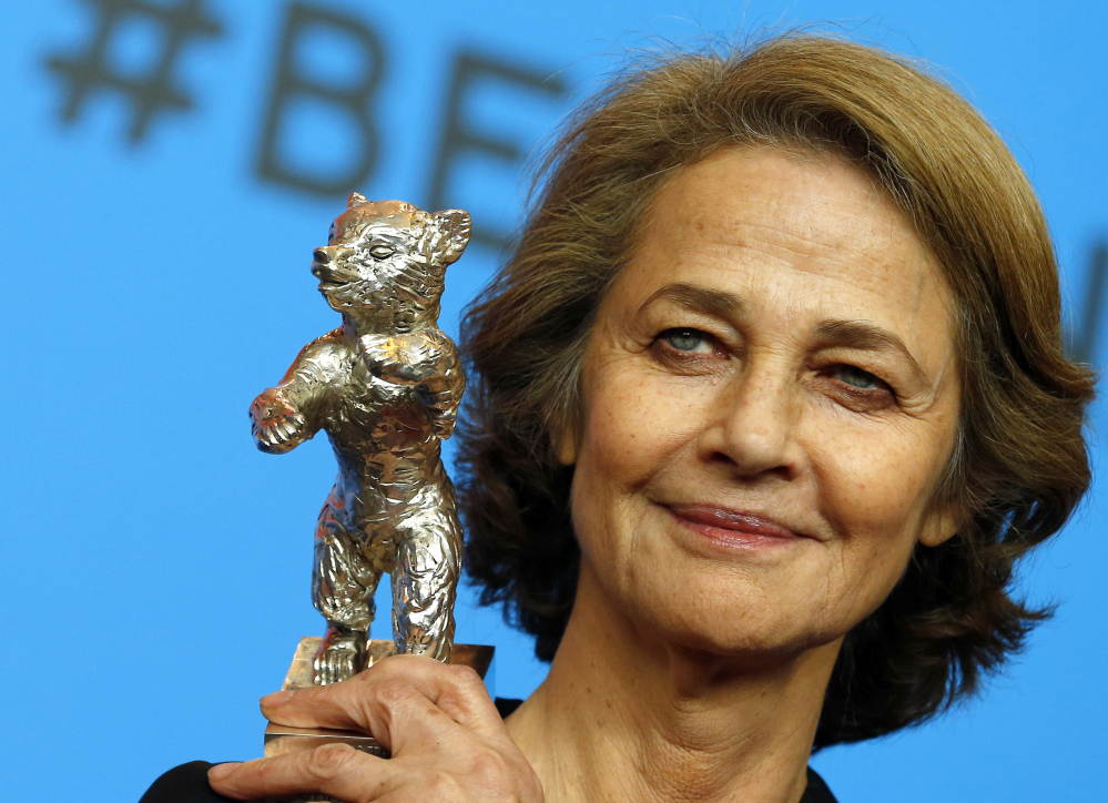 """Actress Charlotte Rampling, 69, aroused controversy when she said that calls for a boycott of the Oscars are """"racist to white people."""""""