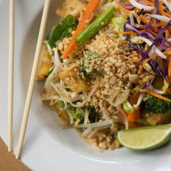 Green Elephant's version of pad Thai. Courtesy photo