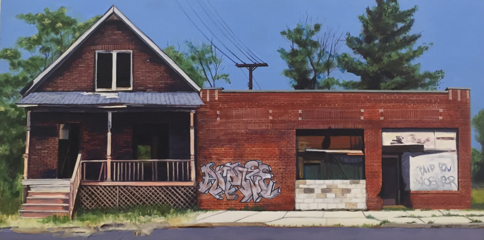 Blighted buildings, Trina May Smith