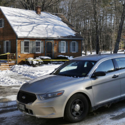 """asdf;'jl;kjl;kj .... WINDHAM, ME - JANUARY 13: The house at 37 Brookhaven Drive in Windham where Noah Gaston fatally shot his wife Alicia Gaston on the morning of January 14, 2016. According to a court affidavit, Gaston told police he shot his wife because he thouht she was an intruder but police say that he had made """"inconsistent statements.""""  (File Photo by Gabe Souza/Staff Photographer)"""