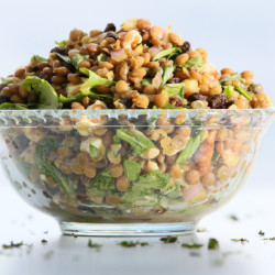 The best lentil salad you'll ever try.