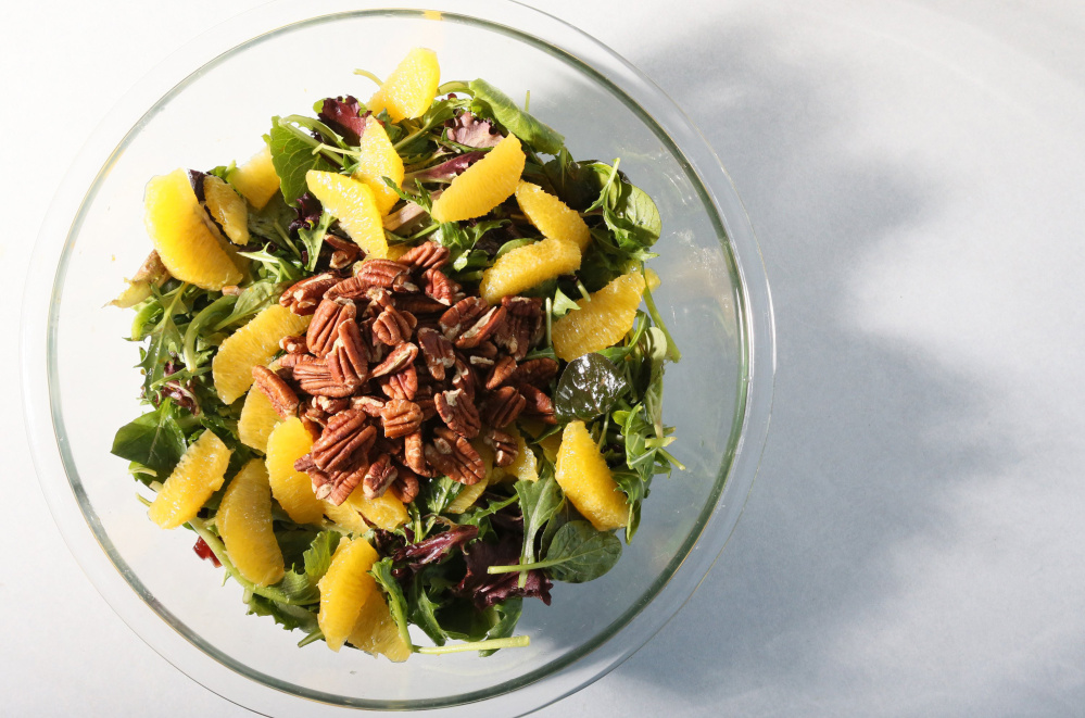 A little citrus kicks things up a notch in this salad.