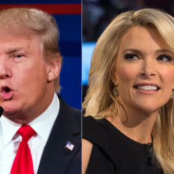Donald Trump and Megyn Kelly clashed in Cleveland.