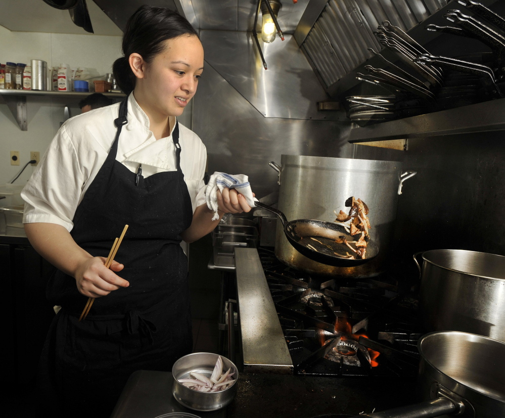 Chef Cara Stadler announced the no-tipping policy in October, just before voters approved an increase in the state's minimum wage.