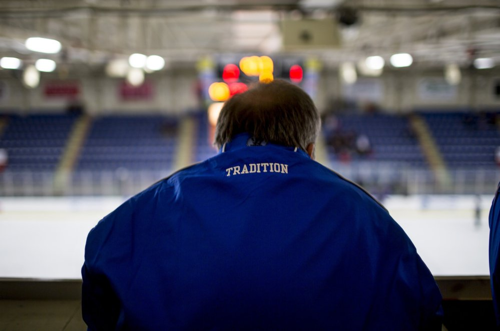 """The players might come and go but the fan base for Lewiston High hockey is unwavering. That fan base often provides its share of criticism along the way, and while coaches as well as players will certainly feel the pressure, it's all part of the """"Tradition."""""""