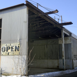 A former T.W. Dick building in Gardiner has a possible future as part of a new medical facility.