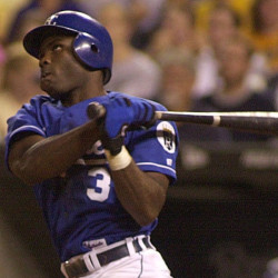 Carlos Febles, who will manage prospects for the Portland Sea Dogs, knew what it was like to be a prospect himself before joining the Kansas City Royals in 1998. File Photo/The Associated Press