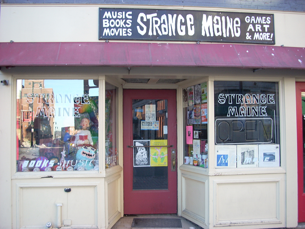 Strange Maine at 578 Congress St. Photos provided by city of Portland