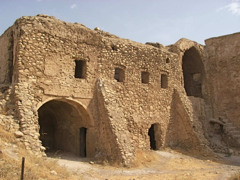 A 2006 photo of St. Elijah's Monastery stood as a place of worship for 1,400 years. Col. Juanita Chang/U.S. Army via AP