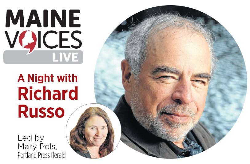MaineVoices Live Richard Russo
