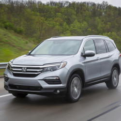 The 2016 Honda Pilot Elite. (Honda)